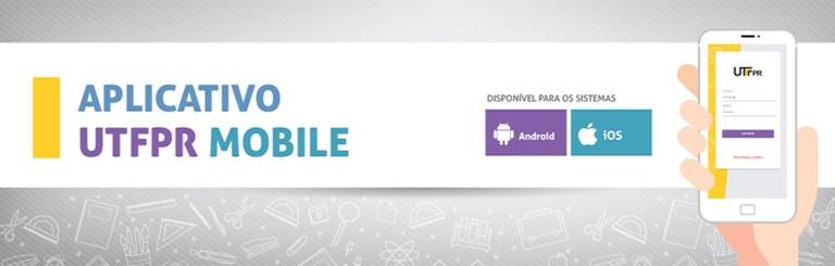 Banner Aplicativo UTFPR Mobile