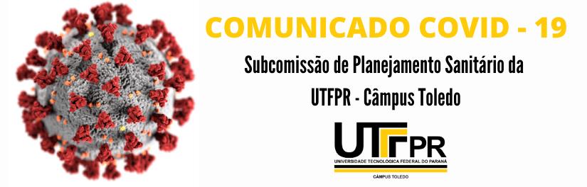 Subcomissão de Planejamento Sanitário da  UTFPR - Câmpus Toledo