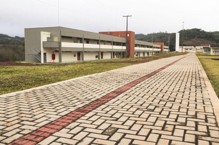 Fachada Campus Francisco Beltrão