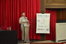 Abertura: Prof. Daniel Fernando Pigatto, Coordenador do Curso de Tecnologia em Sistemas de Telecomunicações