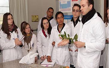 Aula em laboratório