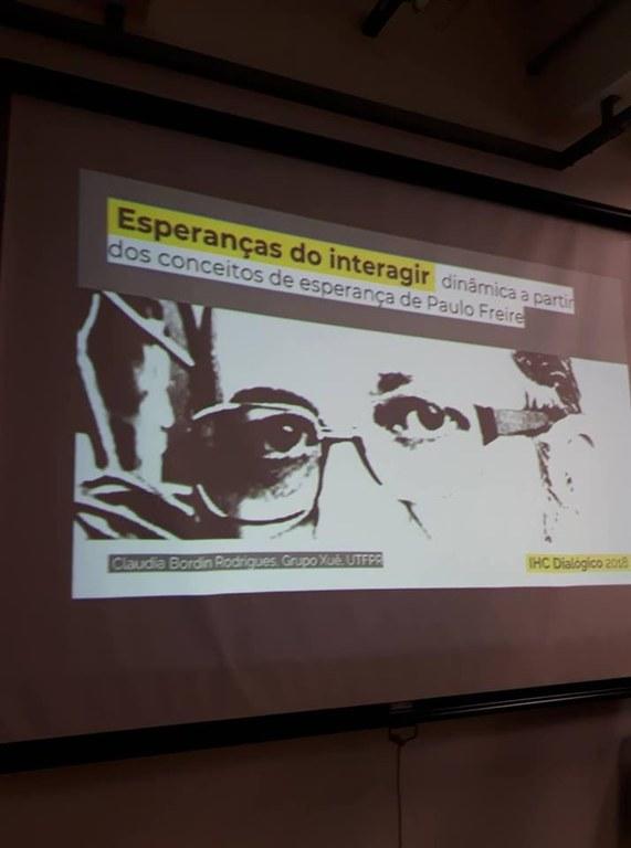 Mais uma rodada, agora com a esperança de Paulo Freire