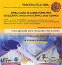 Parceria pela vida: UTFPR -DV implantará um laboratório para fazer exames da COVID-19