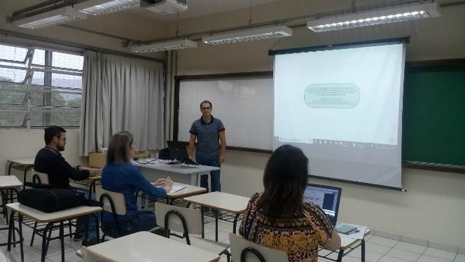 Banca de TCCE - aluno de especialização André Luís Di Domenico
