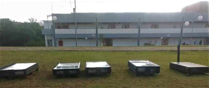 Secadores solares - projeto de aluno da UTFPR
