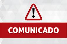 Comunicado oficial da UTFPR (Imagem: Decom)