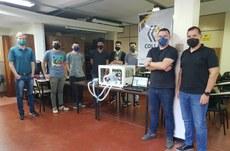 Grupo de Ponta Grossa apresenta o protótipo desenvolvido