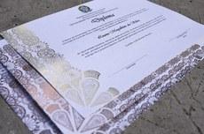 Novo diploma da UTFPR (Foto: Decom)