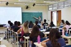 Imagem sala de aula (Foto: Decom)