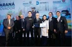 Cerimônia de entrega do certificado de credenciamento   Foto: Rodrigo Felix Leal