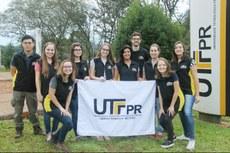 Alunos e professores da UTFPR que participaram do projeto Rondon | Foto: Equipe Rondon