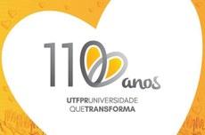 Marca comemorativa dos 110 anos da Universidade (Foto: Decom)