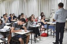 Sala de aula no Câmpus Francisco Beltrão (Foto: Decom)
