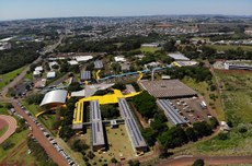 Imagem aérea da UTFPR, Câmpus Pato Branco