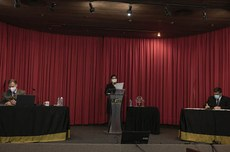 2º debate entre candidatos a reitor da UTFPR (Foto: Decom)