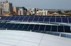 Estação fotovoltaica no Câmpus Curitiba (Foto: Ascom-CT)